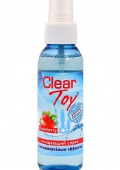 Очищающий спрей Clear Toy strawberry, 100 мл.