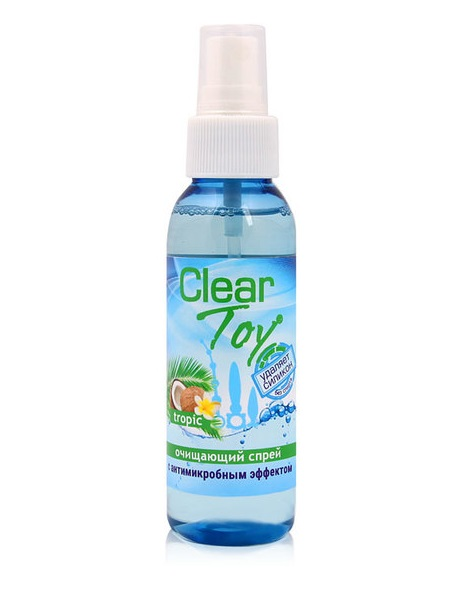 Очищающий спрей Clear Toy tropic, 100 мл.